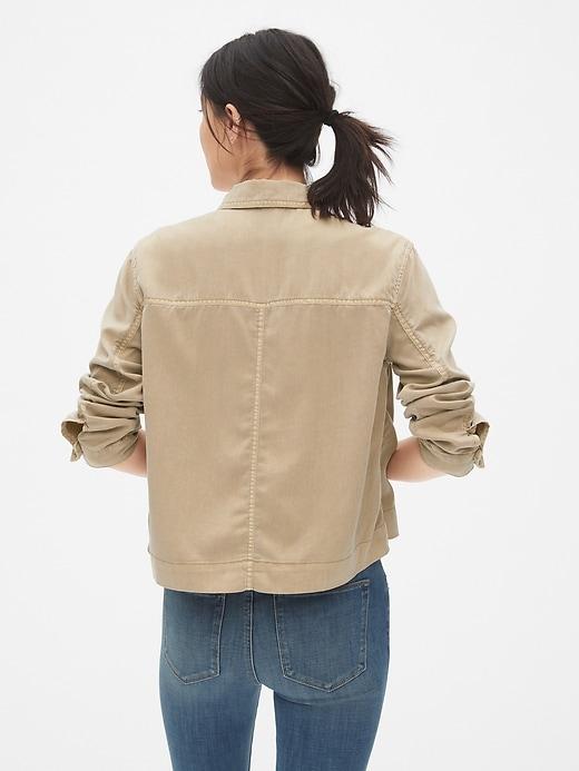 TENCEL&#153 Icon Utility Jacket