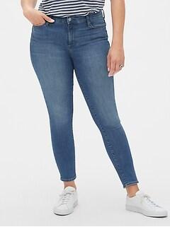 184763a43d Mid Rise True Skinny Jeans in Sculpt