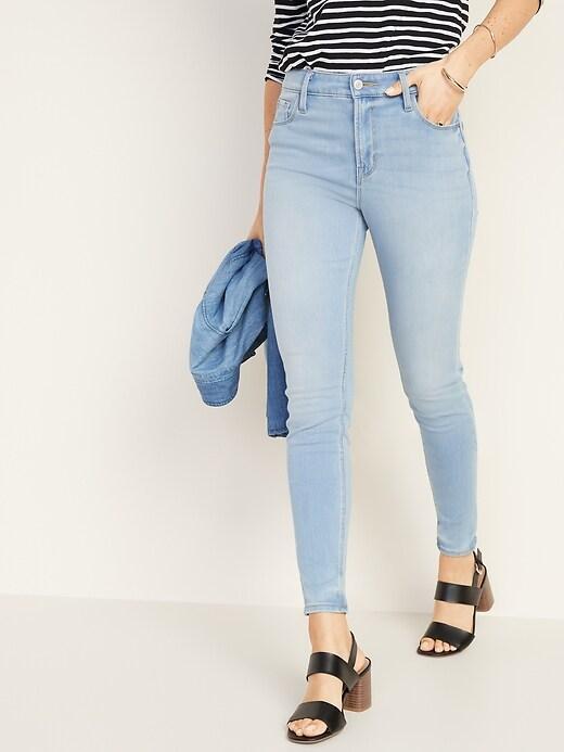 High-Waisted 24/7 Sculpt Rockstar Super Skinny Jeans For Women