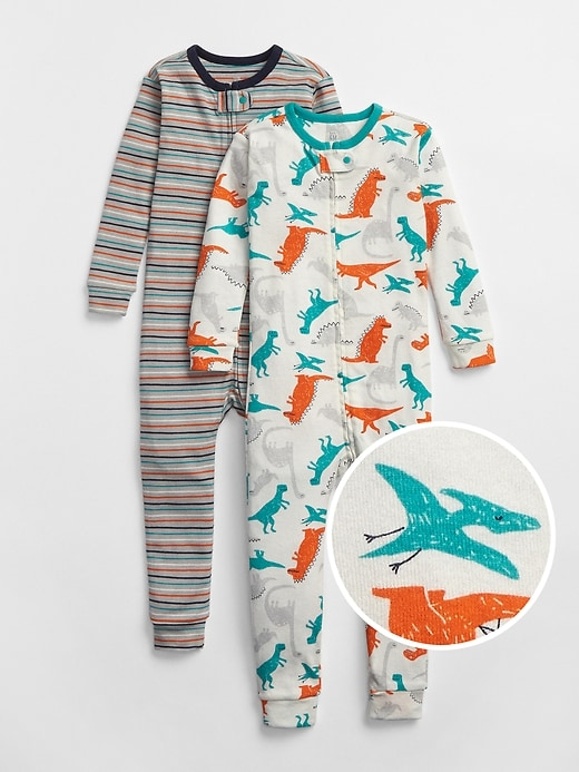 babyGap Dino One-Piece PJ (2-Pack)