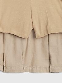 Kids Uniform Twill Skort with Gap Shield