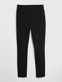High Rise Skinny Ankle Pants