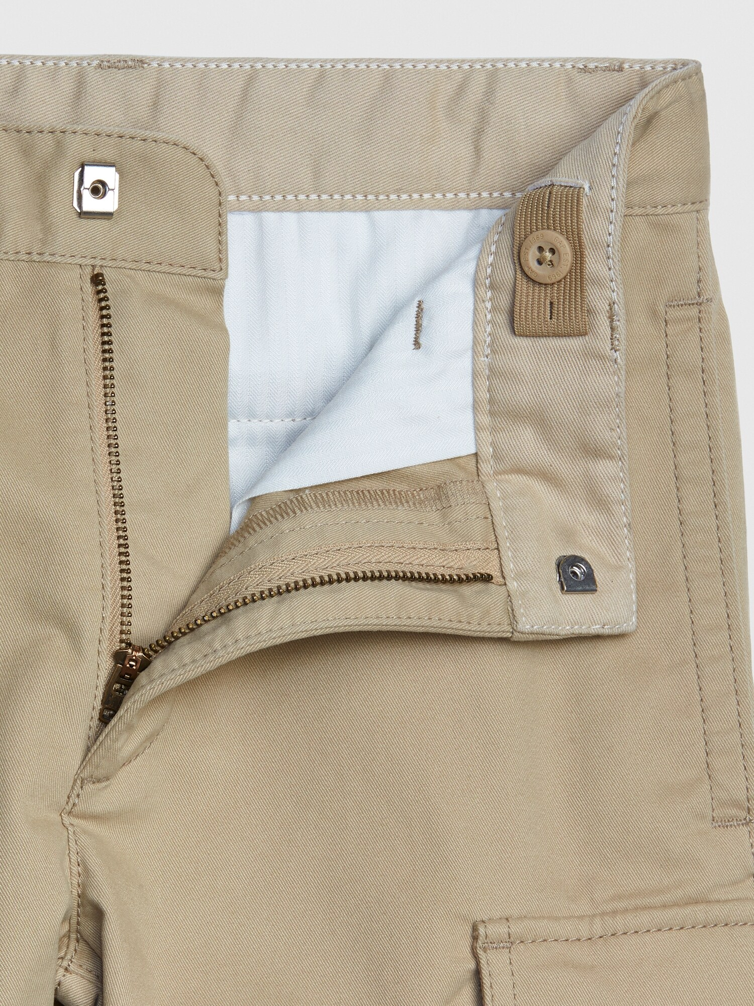 GAP Kids Factory Girls Khaki School Uniform Shorts 7