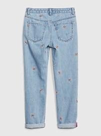Kids Rainbow Girlfriend Jeans