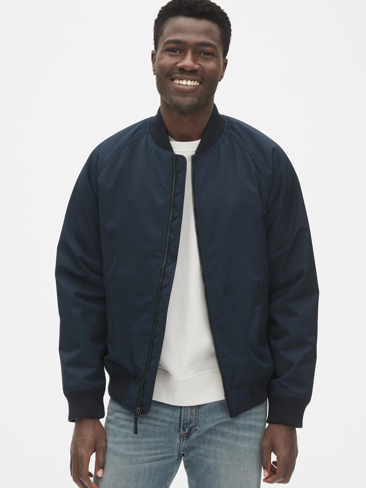 ラグランボンバージャケット