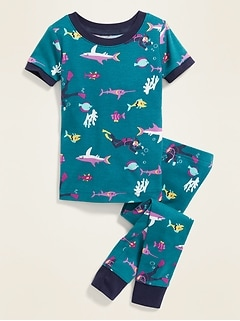 df0d56ee6 Under-the-Sea Print Sleep Set for Toddler Boys & Baby