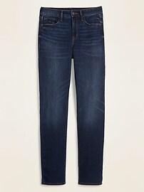 High-Waisted Power Slim Straight Jeans