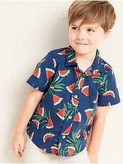e8ed41e03 Built-In Flex Watermelon-Print Shirt for Toddler Boys