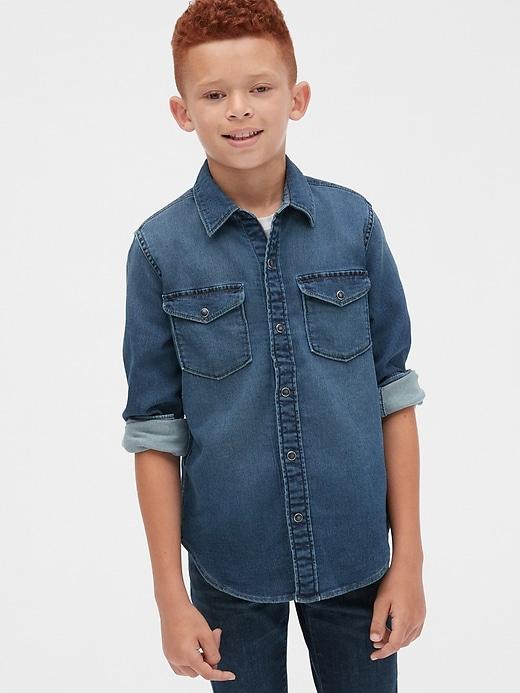 Kids Knit-Like Shirt