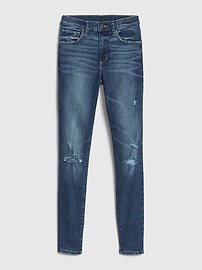 Mid Rise Distressed Favorite Jeggings