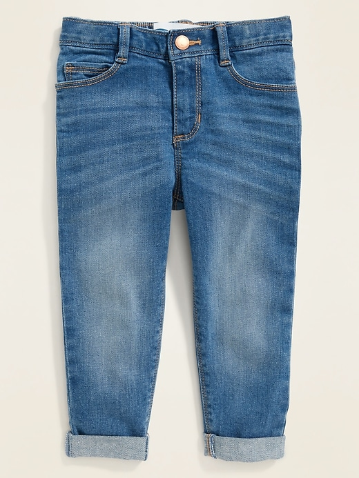 Five-Pocket Boyfriend Jeans for Toddler Girls