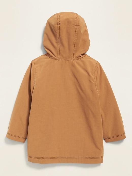 Hooded Utility Jacket for Toddler Boys