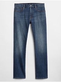 Soft Wear Straight Fit Jeans with GapFlex
