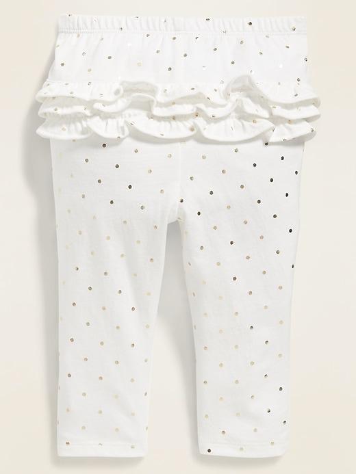 Printed Ruffle-Trim Leggings for Baby