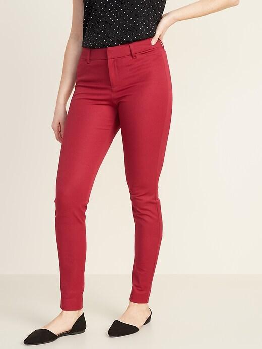 Mid-Rise Full-Length Pixie Pants for Women