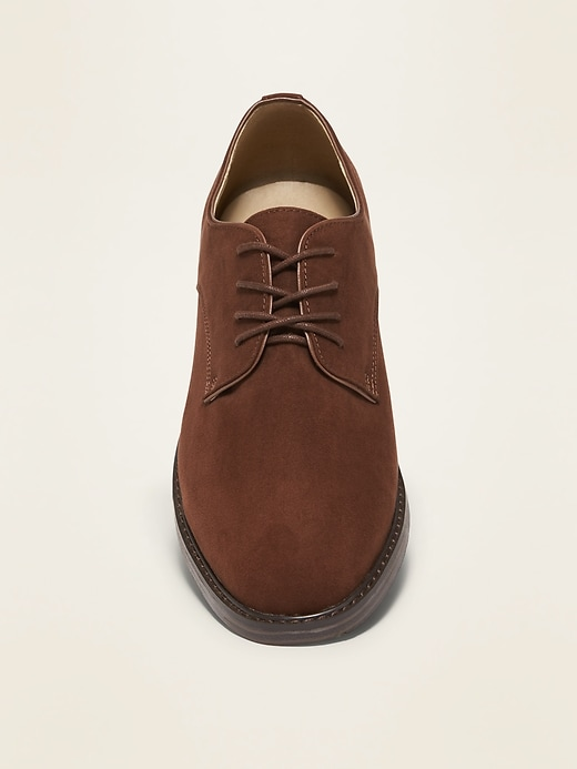 Faux-Suede Bucks for Men