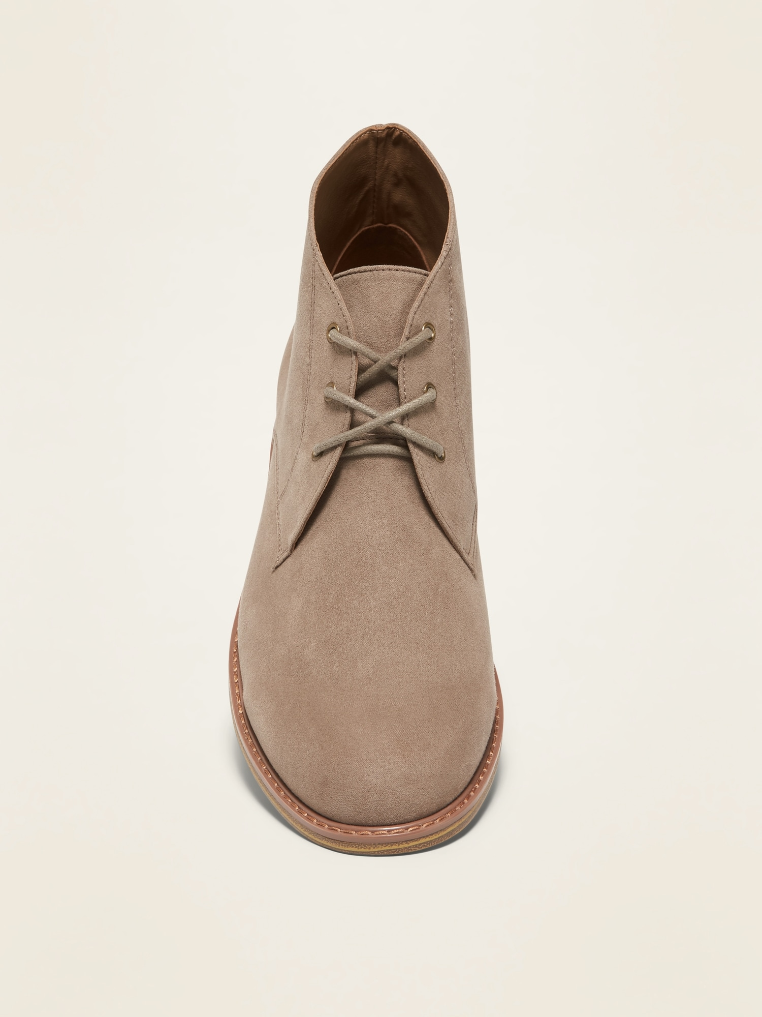Faux-Suede Chukka Boots for Men   Old Navy