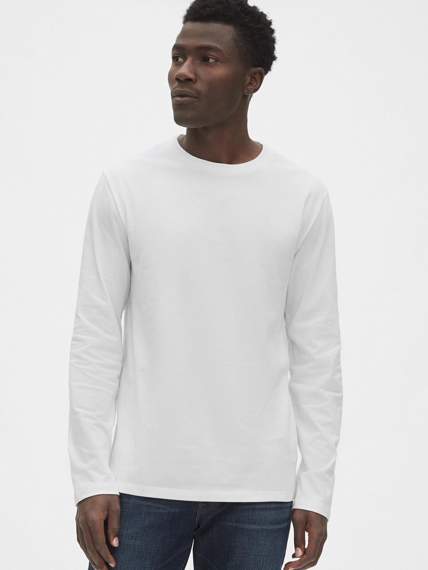 長袖クラシックtシャツ