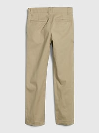 Kids Uniform Relaxed Fit Khakis with Gap Shield