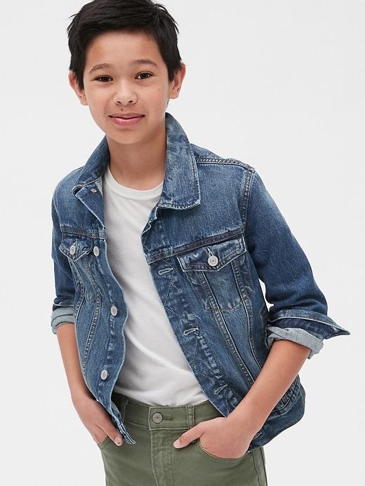 Kids Denim Icon Jacket