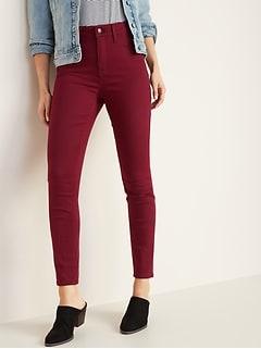 afe339fa71ee3 High-Rise Secret-Slim Pockets Pop-Color Rockstar Super Skinny Jeans for  Women