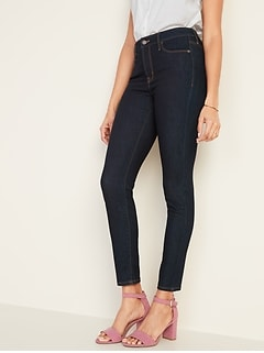 00b92b1ca91 High-Rise Secret-Slim Pockets Rockstar Super Skinny Jeans for Women