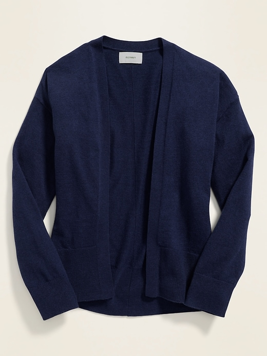 Open-Front Sweater for Girls