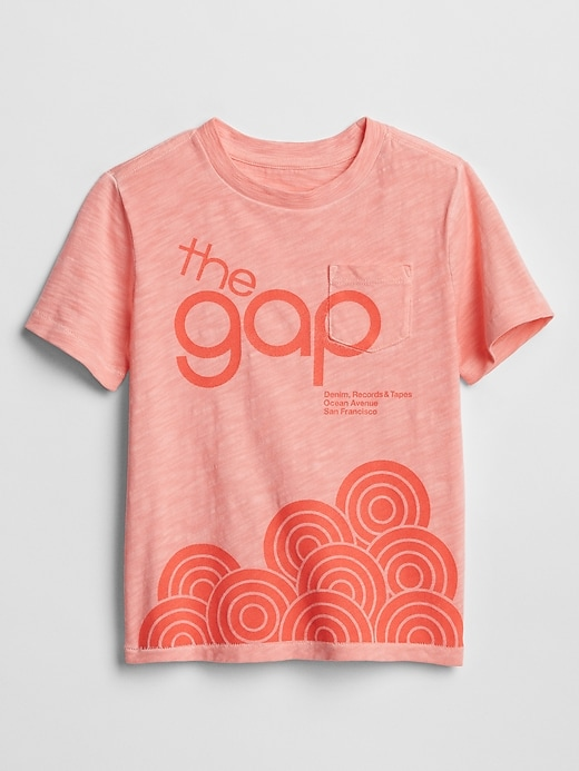 Toddler Gap Logo Graphic Pocket T-Shirt