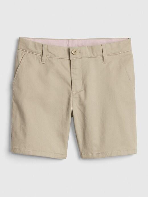 Kids Uniform Midi Shorts with Gap Shield