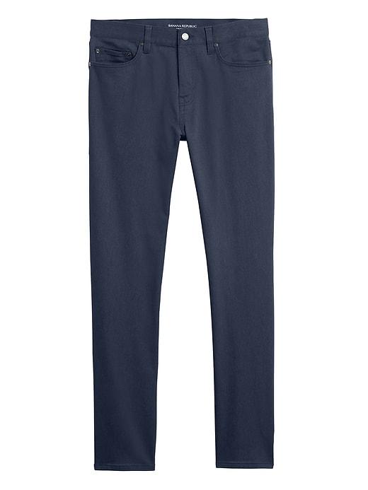Pantalon Traveler fuselé chiné