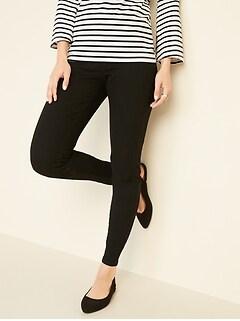de6a26e434802 Super Skinny Black Pull-On Jeggings for Women