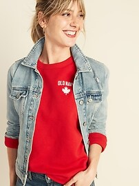 Logo-Graphic Sweatshirt for Women