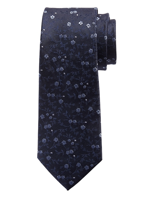 Micro Floral Nanotex® Tie