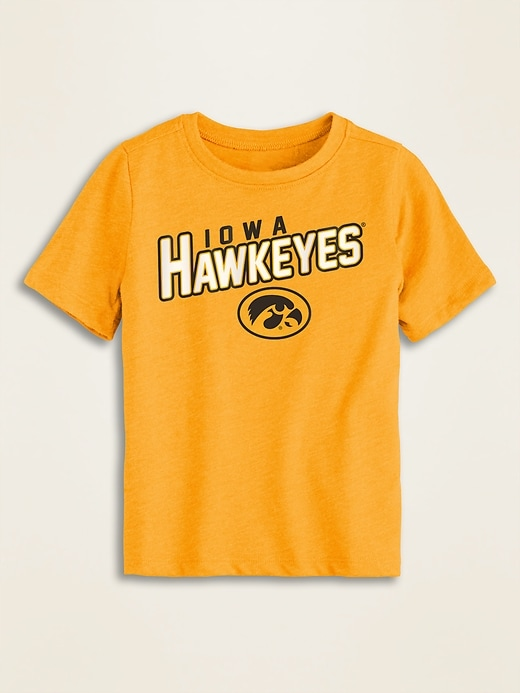 Colllege-Team Graphic Tee for Toddler Boys