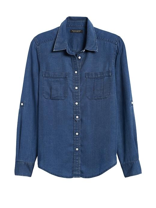 Dillon Classic-Fit TENCEL&#153 Utility Shirt