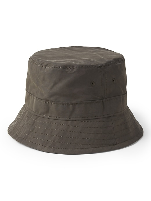 Waxed Canvas Bucket Hat