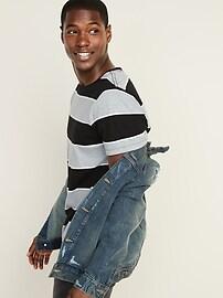 Distressed Built-In Tough Jean Jacket For Men