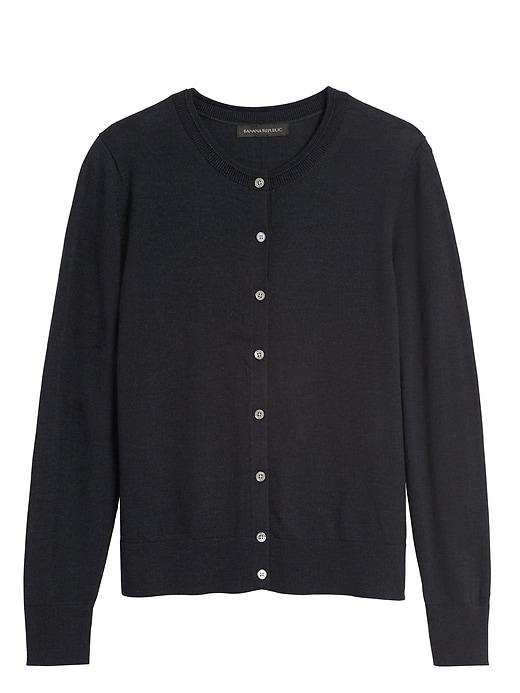 Washable Merino Cardigan Sweater