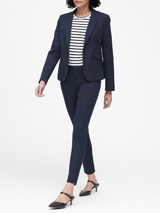 Classic-Fit Washable Blazer