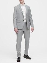 Slim-Fit Tech-Stretch Cotton Shirt