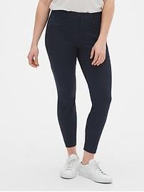 Curvy Skinny Ankle Pants