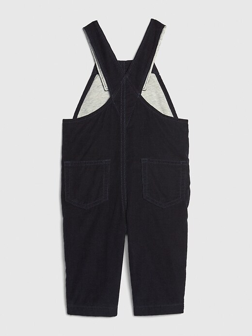 Baby Lined Cord Overalls