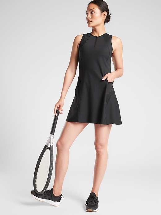 Match Point Dress in SuperSonic