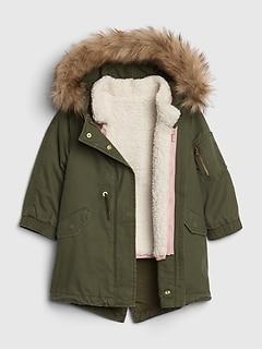 1aa26f2176b Toddler Girls Coats & Jackets | Gap