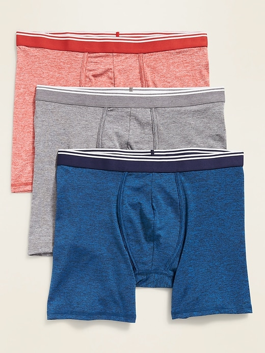 Performance Boxer Briefs 3-Pack for Men