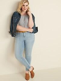 High-Waisted Built-In Sculpt Plus-Size Rockstar 24/7 Jeans