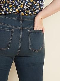 High-Waisted Secret-Slim Pockets Plus-Size Skinny Rockstar Jeans