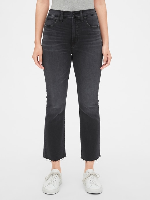 High Rise Crop Boot Jeans with Secret Smoothing Pockets