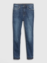 High Rise True Skinny Ankle Jeans in Sculpt with Secret Smoothing Pockets