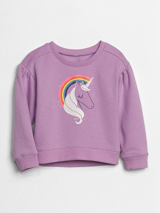 Toddler Graphic Pullover Sweatshirt